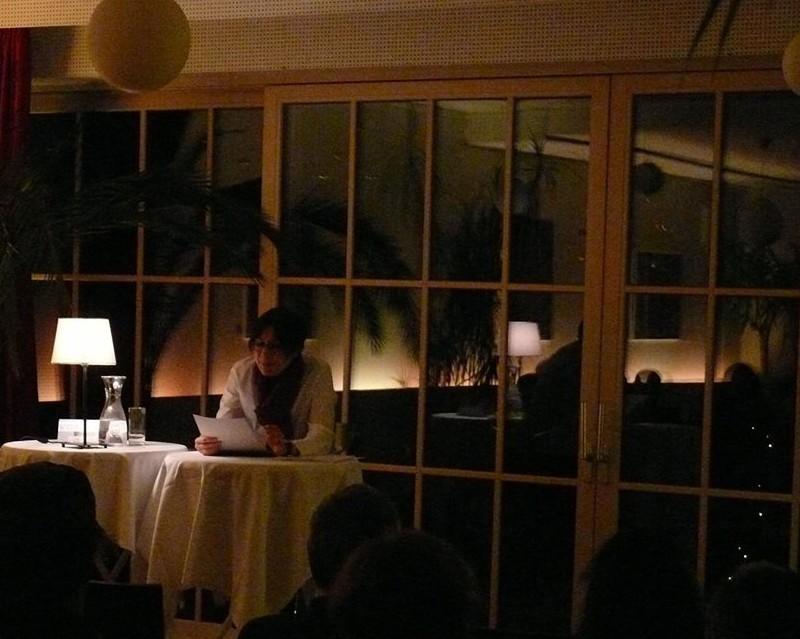 Weihnachts-Lesung im Gasthaus Oliver 2014